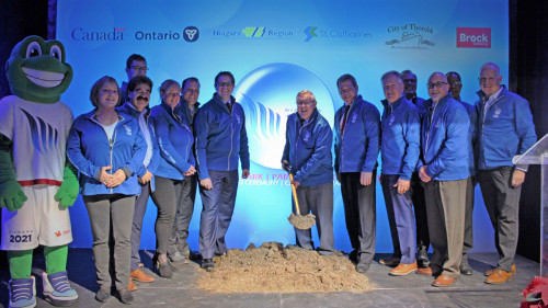 Groundbreaking Ceremony Canada Games Park